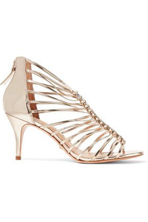 Schutz Metallic Embellished Sandals latest collections 2014 cheap online OWslwgOgG