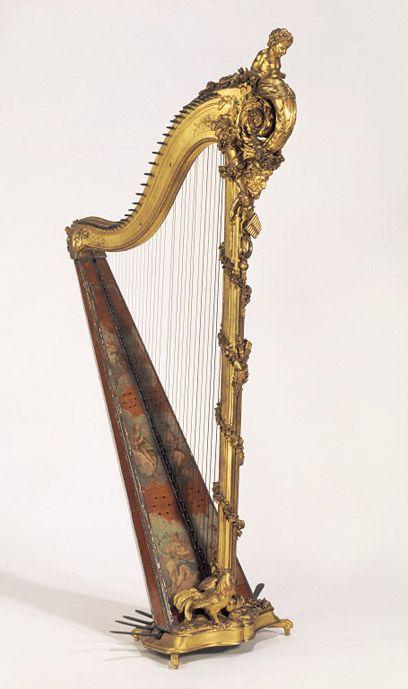 Paris, France, Georges Cousineau, about 1785.        Pedal harp:Georges…