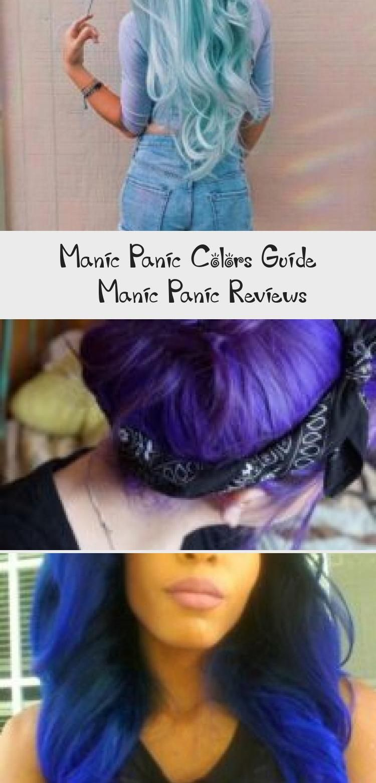 Manic Panic Colors Guide Manicpanic Colors Hairdye Guide Dyedhairforredheads Dyedhairdark Dyedhaircaramel In 2020 Manic Panic Hair Dye Dyed Hair Blue Dyed Hair
