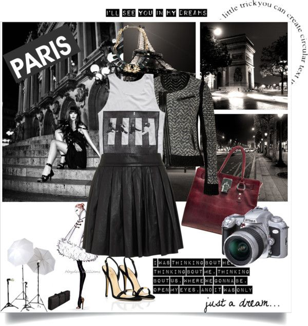"""oooh paris...wish I lived there!"" by myfashionheart ❤ liked on Polyvore"