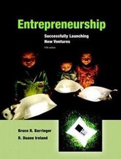 Entrepreneurship Successfully Launching New Ventures free download