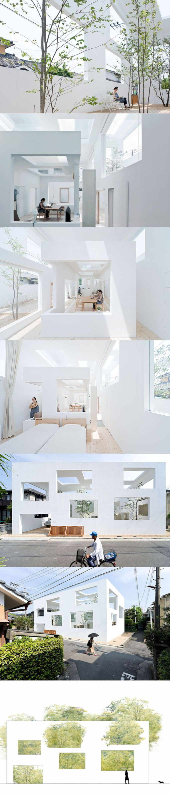 2012 Sou Fujimoto - House N / Oita Japan / white