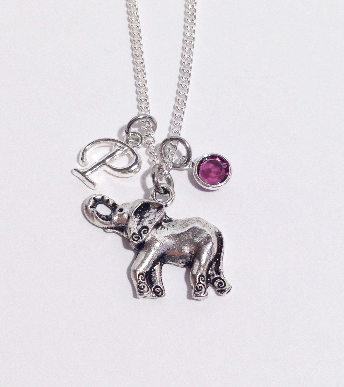 Christmas gifts for women Elephant Necklace Christmas gifts for her Elephant Gifts Personalized Necklace Christmas gifts for mom
