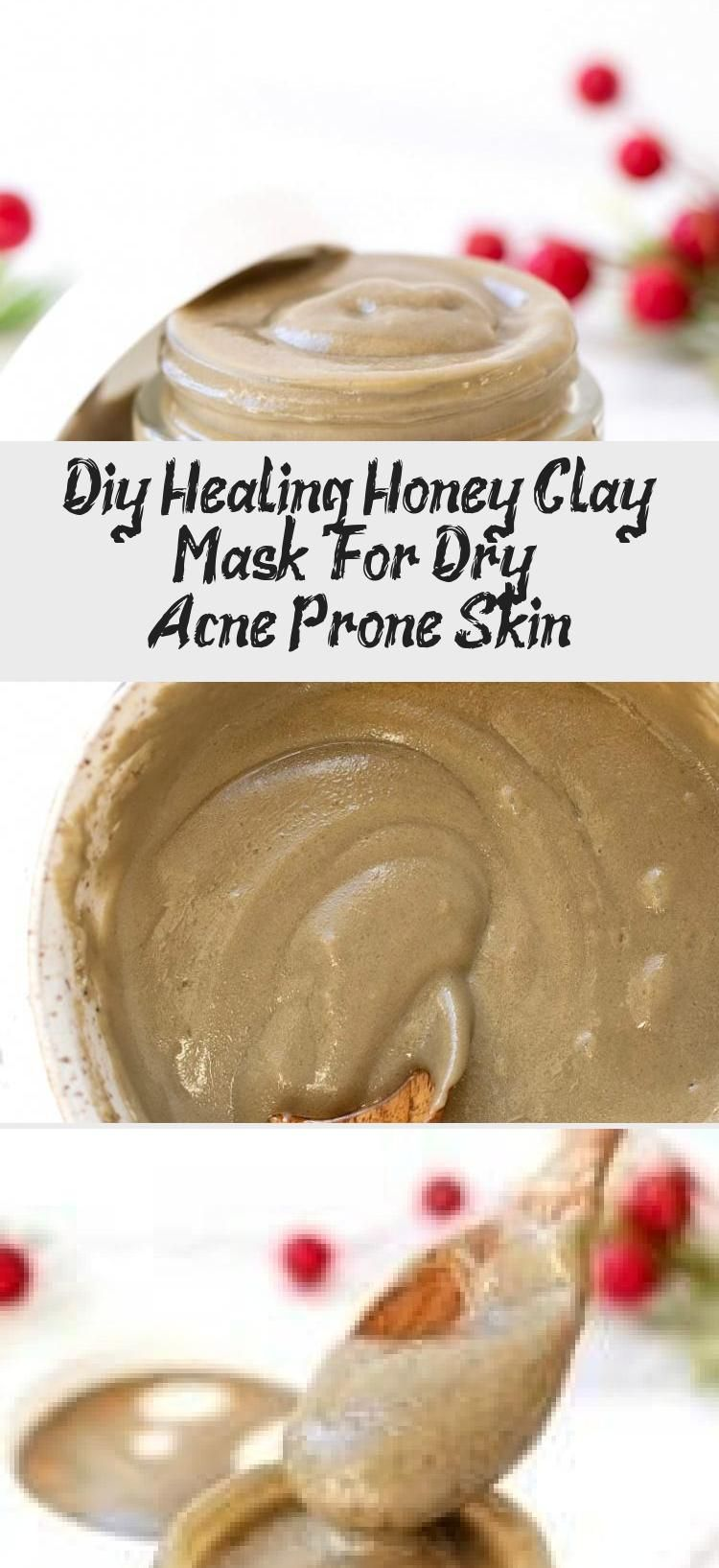 Diy Healing Honey Clay Mask  For Dry