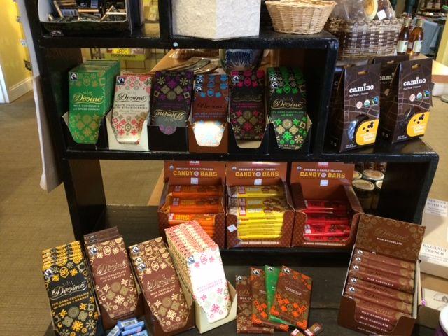 fair trade chocolate :)