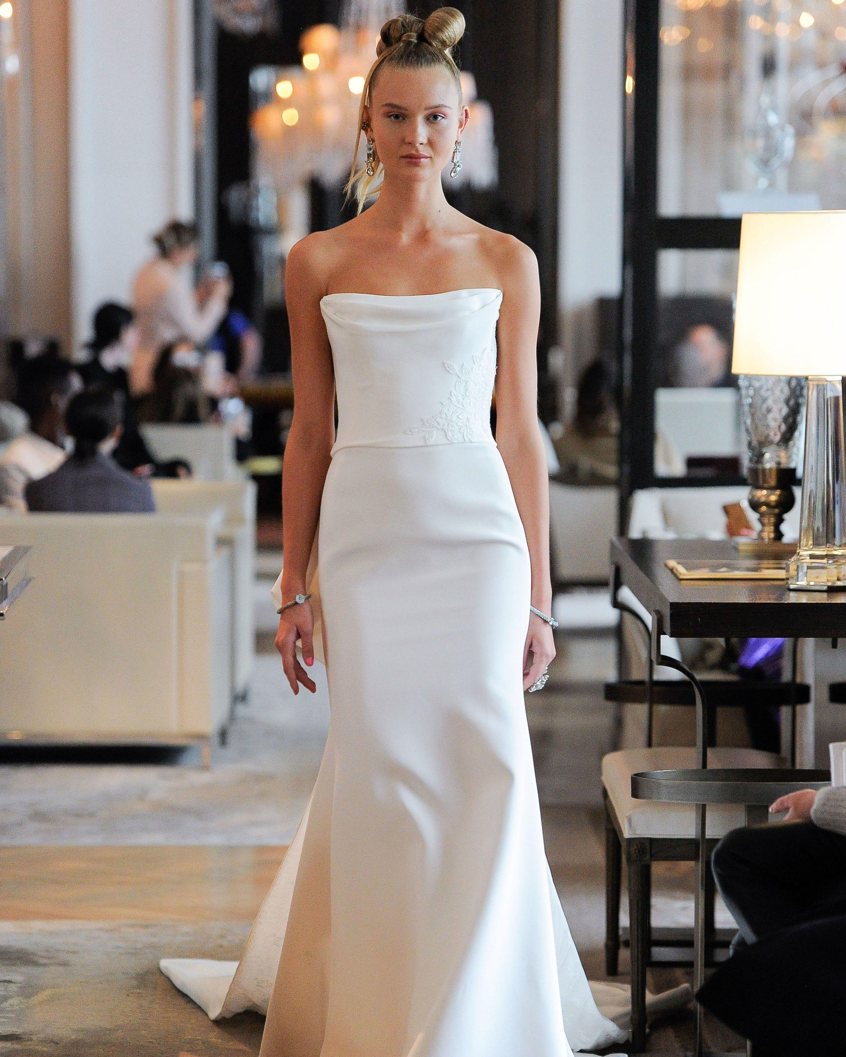 Ines Di Santo 2020 Wedding Dress Collection Ines Di Santo Wedding Dresses Classic Wedding Dress Trumpet Wedding Dress