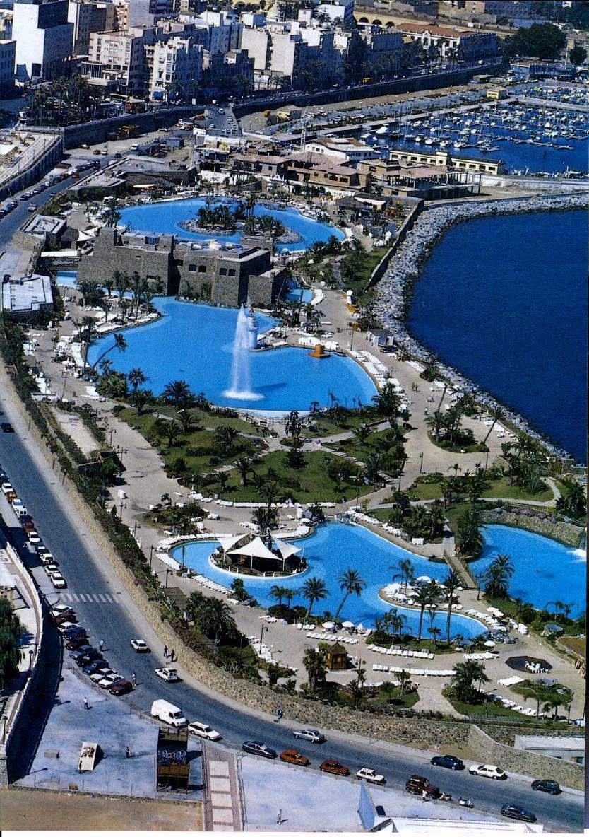 Ciudad aut de ceuta parque maritimo esp city spain spain travel places in spain - Ver piscinas ...