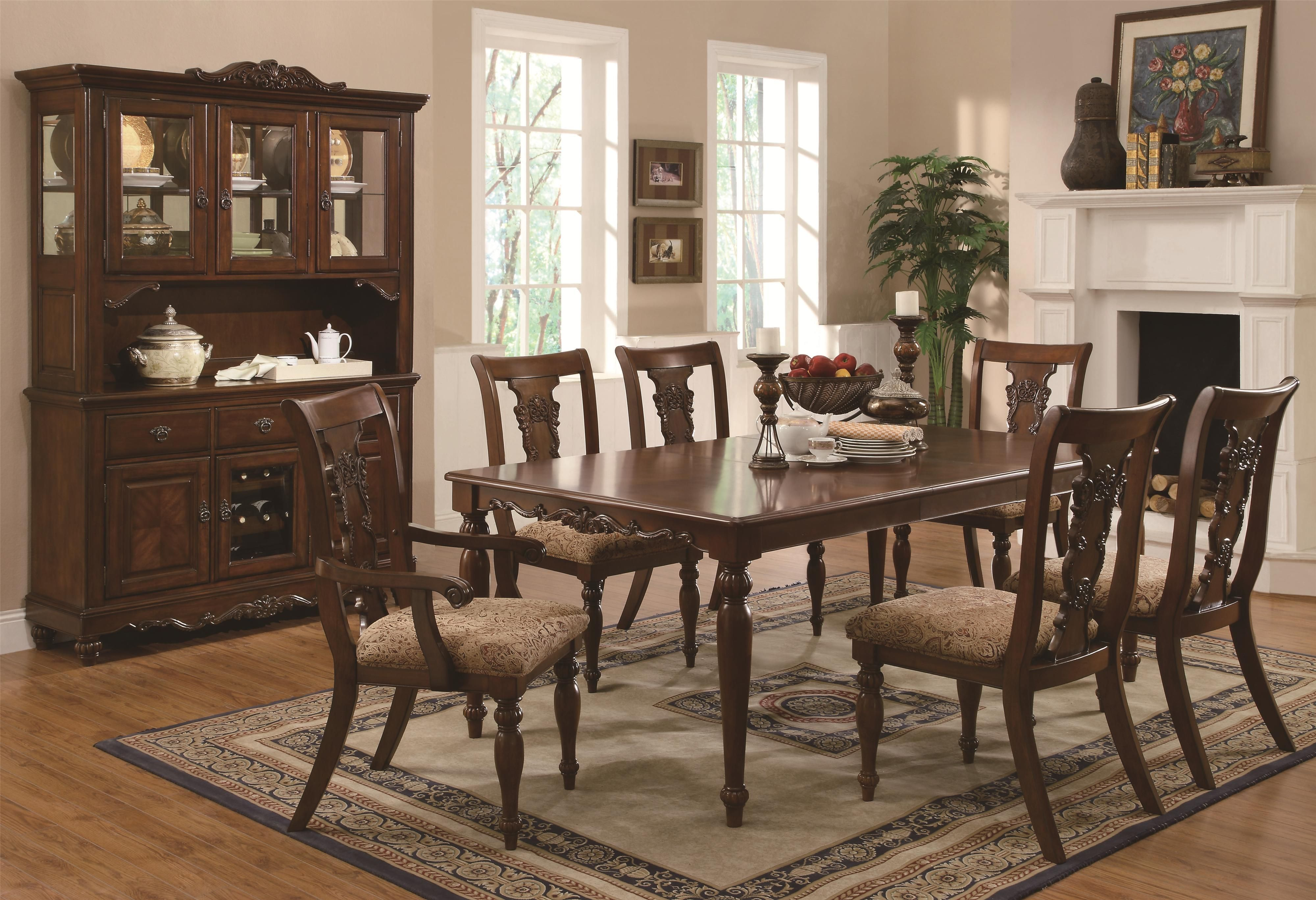 Shop Coaster Fine Furniture 103511 Addison Dining Table At ATG Stores