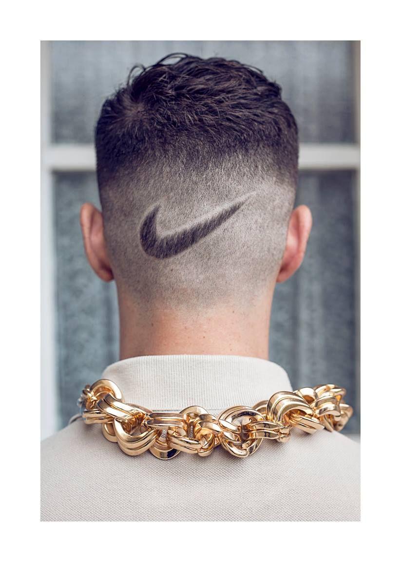 Nike Symbol in Hair Boys