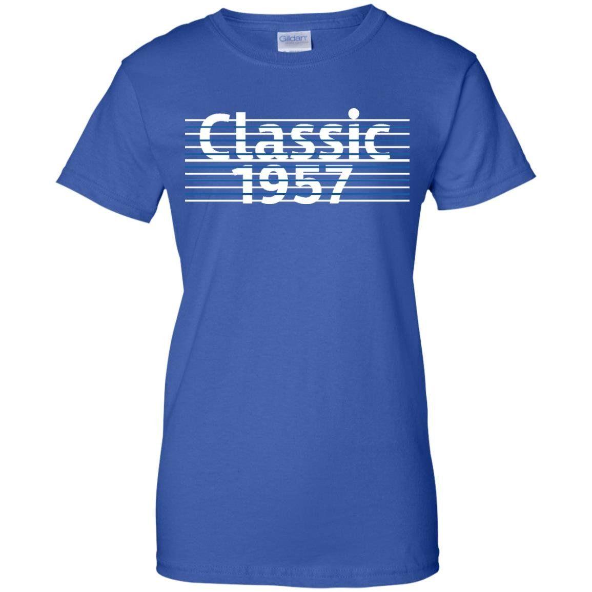 Mens Classic 1957 T Shirt Vintage 60th Birthday Gift