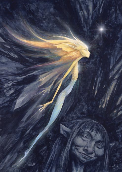 Thrusting Faery by Brian Froud | By Brian Froud ...