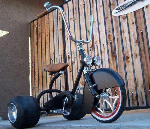 New school old school trike big wheel
