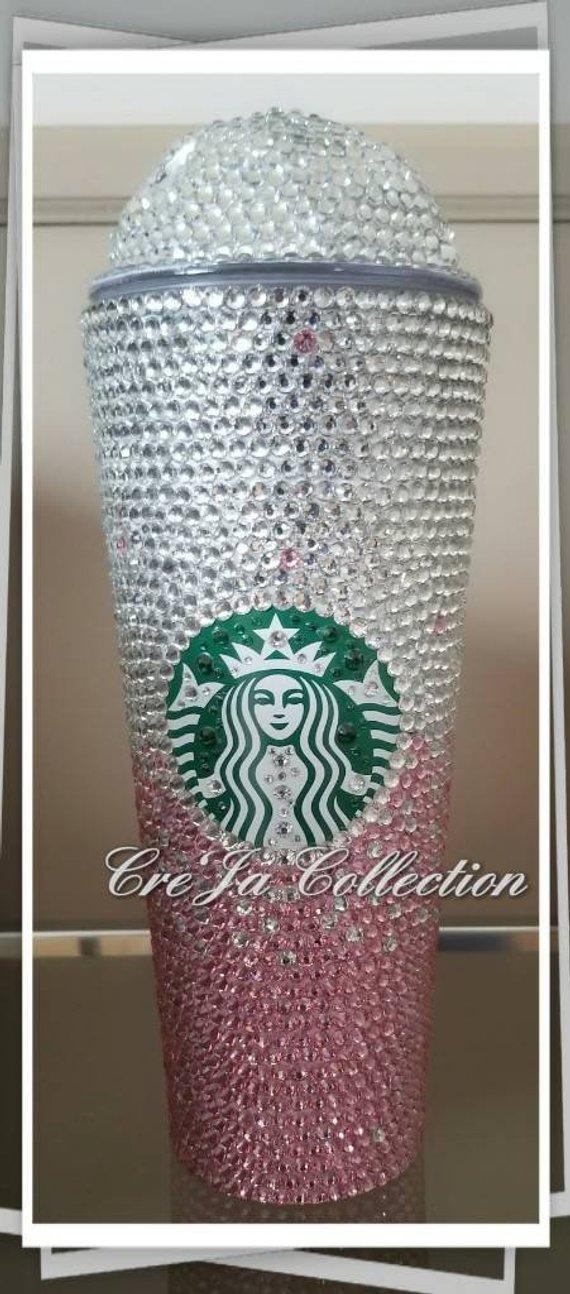 d398b21c4ef Starbucks Bling Cup, Coffee Bling Cup, Starbucks Tumbler, JLo Cup ...