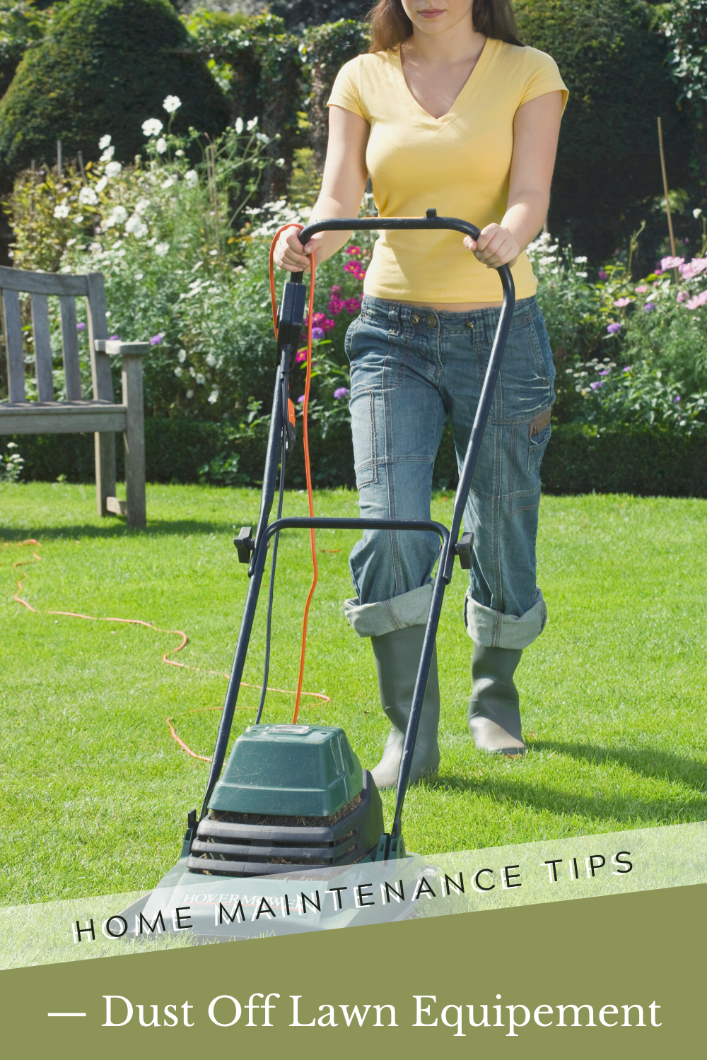 Dust Off Lawn Equipment