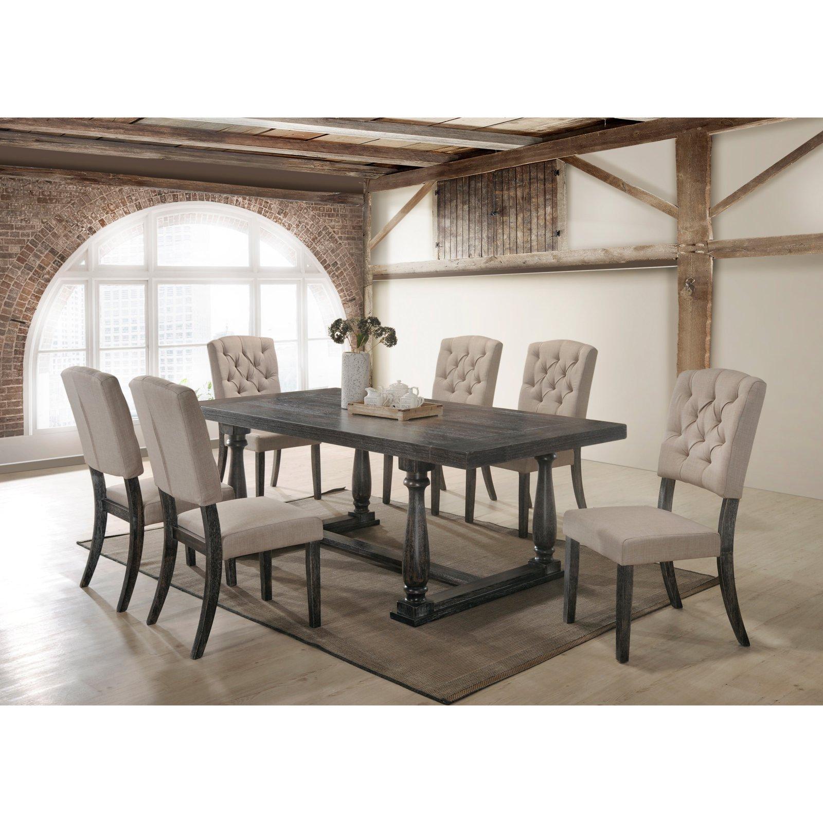 Best Master Furniture Katrina 7 Piece Dining Set Dining Room