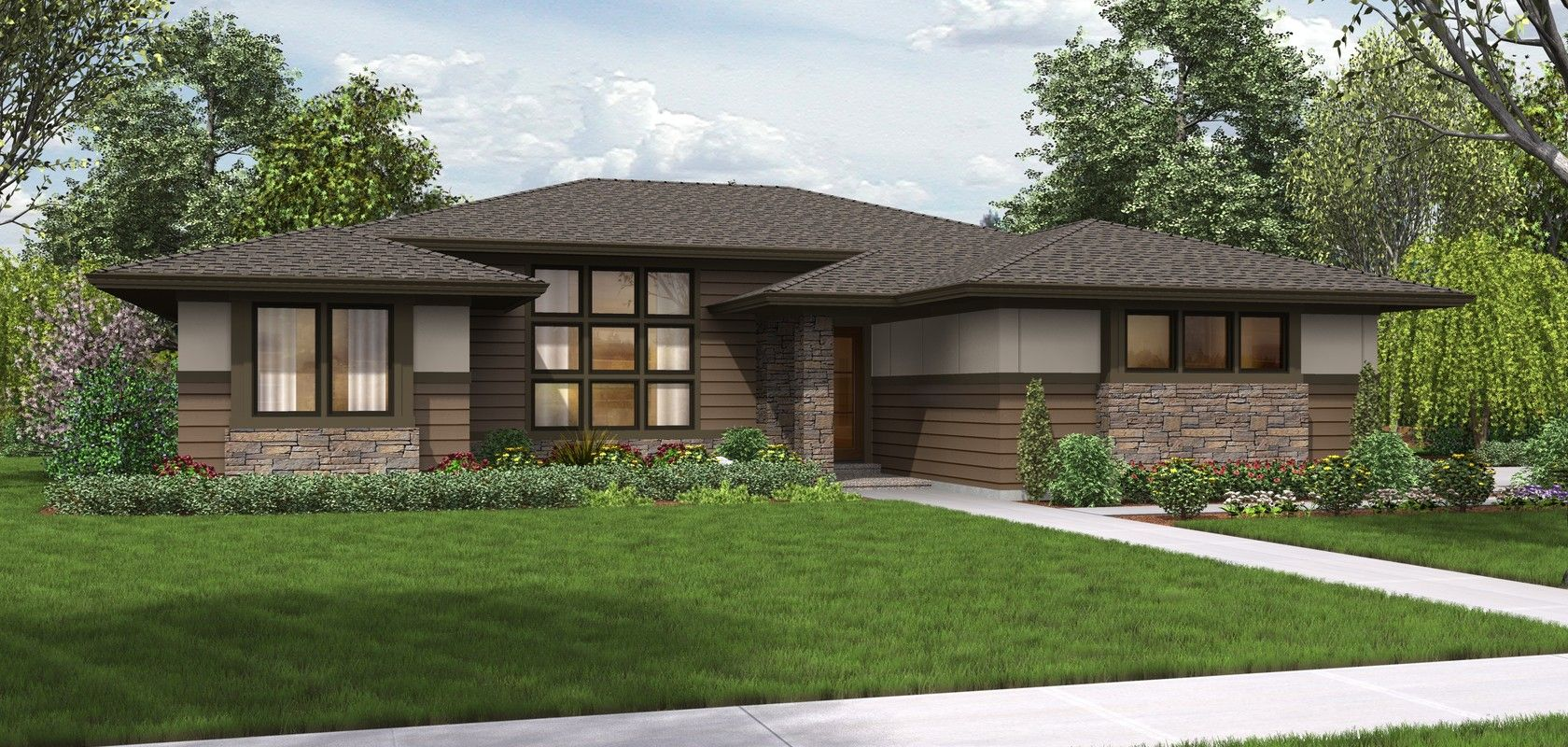 Mascord House Plan 1247 The Dallas Planos De Casas Modernas Planos De Casas Casas