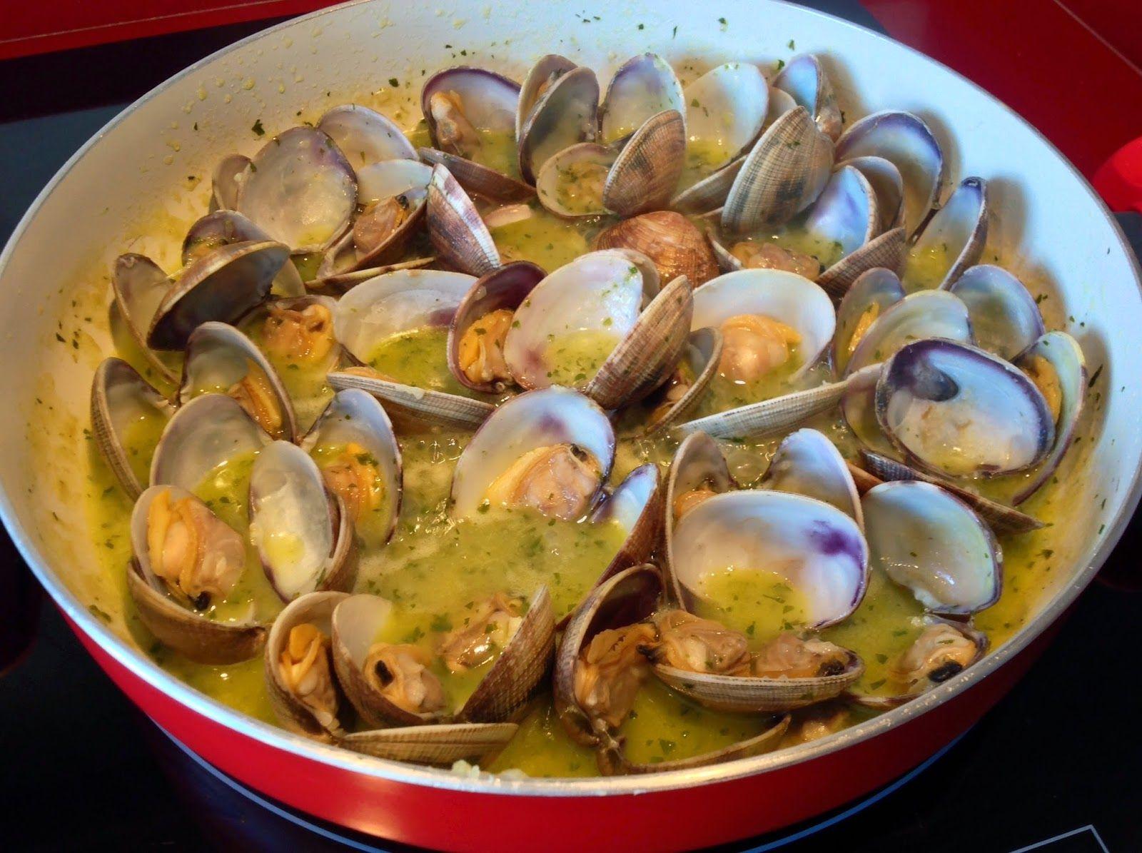 receta almejas en salsa verde | Rías Atlánticas Blog