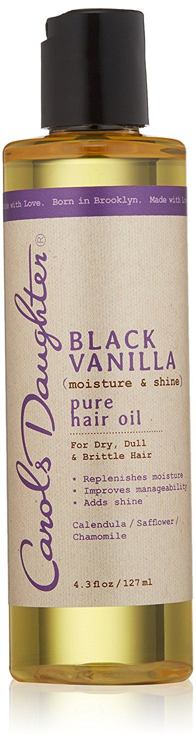 Carols Daughter Black Vanilla Moisture Shine Pure Hair Oil, 4.3 Ounce *** This is an Amazon Affiliate link. Learn more by visiting the image link.