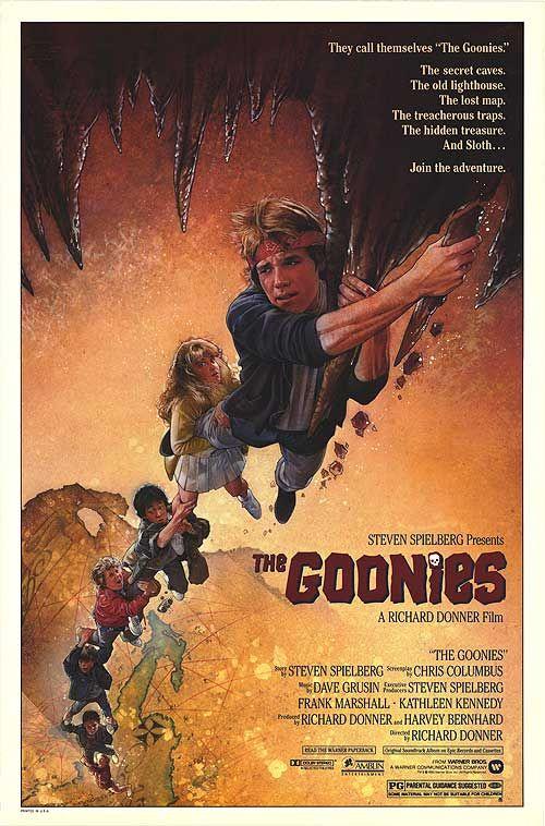 Goonies Movie Poster Les Goonies Goonies Film