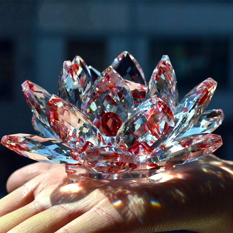 Crystal Lotus Flower Feng shui crystals, Feng shui, Crystals