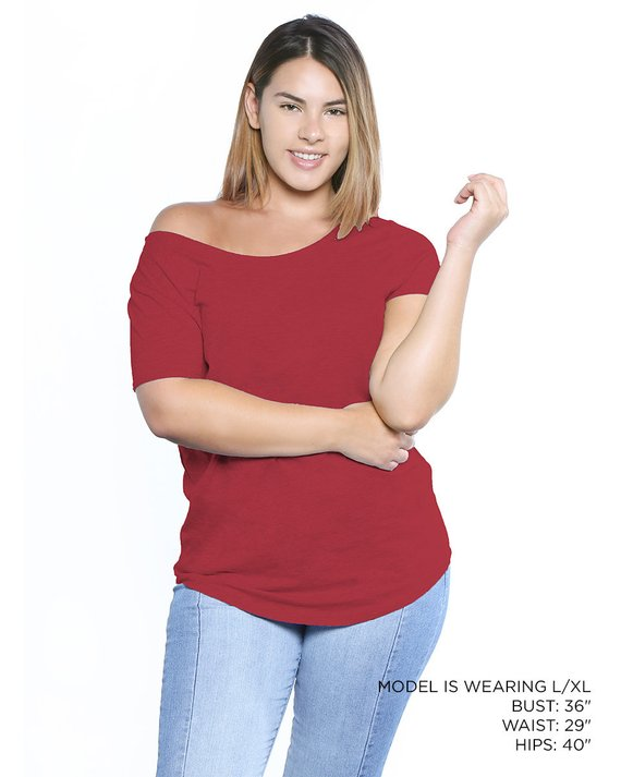 39a752b554e Sexy Plus Size Shirts for Women. 80's Off The Shoulder Shirt. Plus Size Off  Shoulder Tshirt.