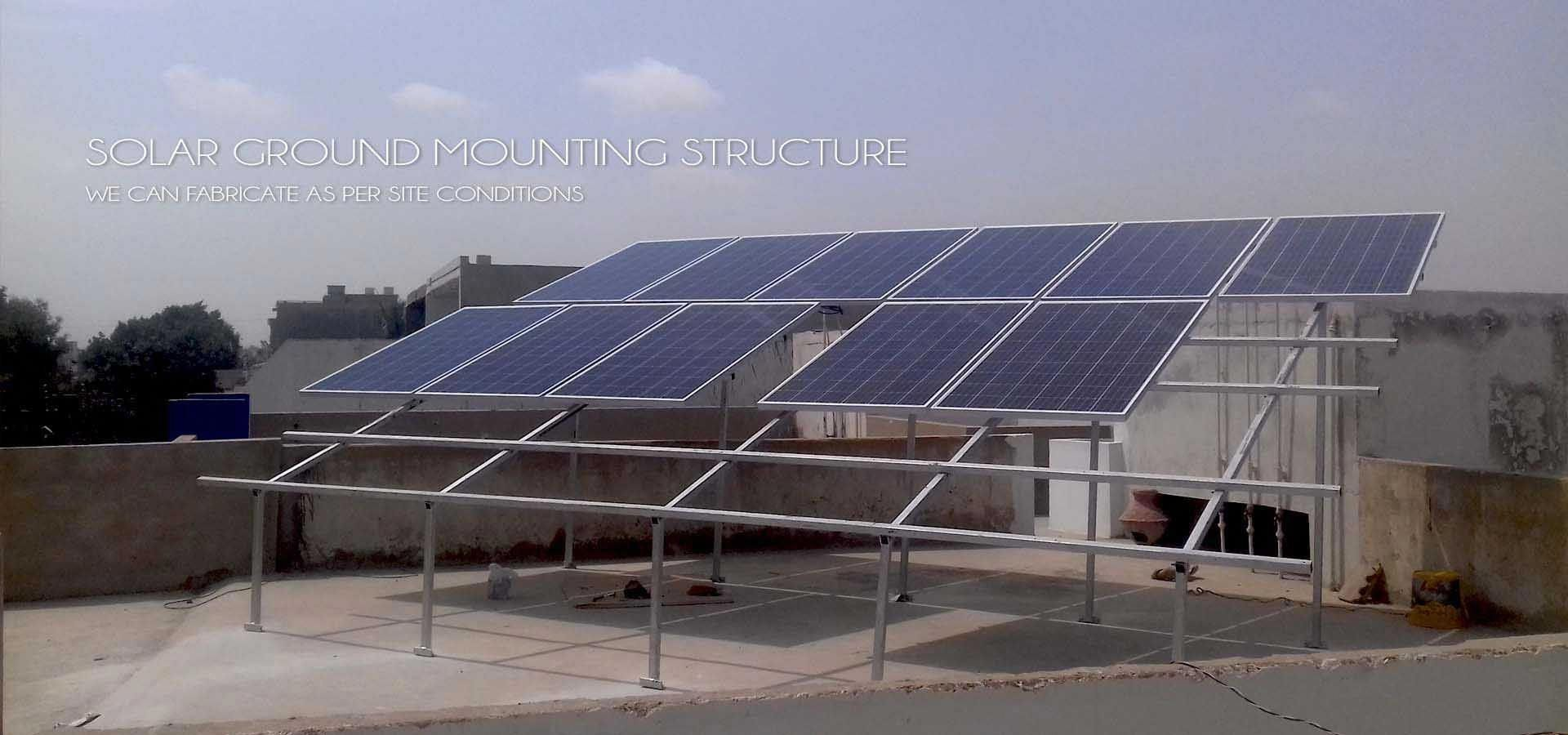 We Design Solar Panel Structure As Per Site Conditions Our Ms Structure Ability To Install 3 Up Solar Panels Solarpan In 2020 Solar Energy Panels Solar Panels Solar