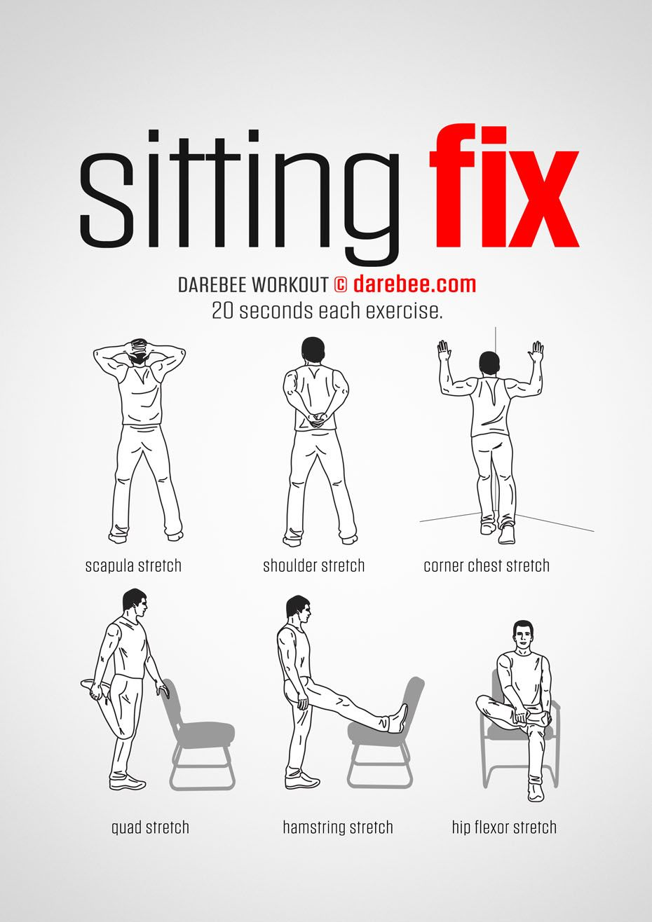 100 Office Workouts Office Exercise Exercise Chair Exercises
