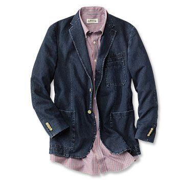 Orvis Denim Sportcoat | Fashion | Pinterest | Men's fashion and ...