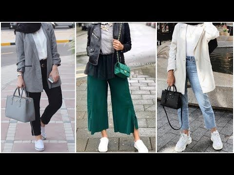 032adab59 AUTUMN Hijab fashion 2018 ستايلات محجبات للخريف | Things to Wear in ...