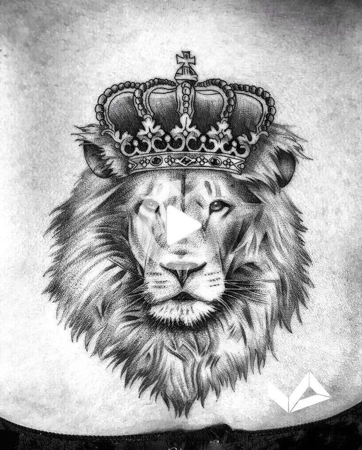 Pin On Tatoo Lion Head Tattoos Animal Tattoos Lion Tattoo With Crown