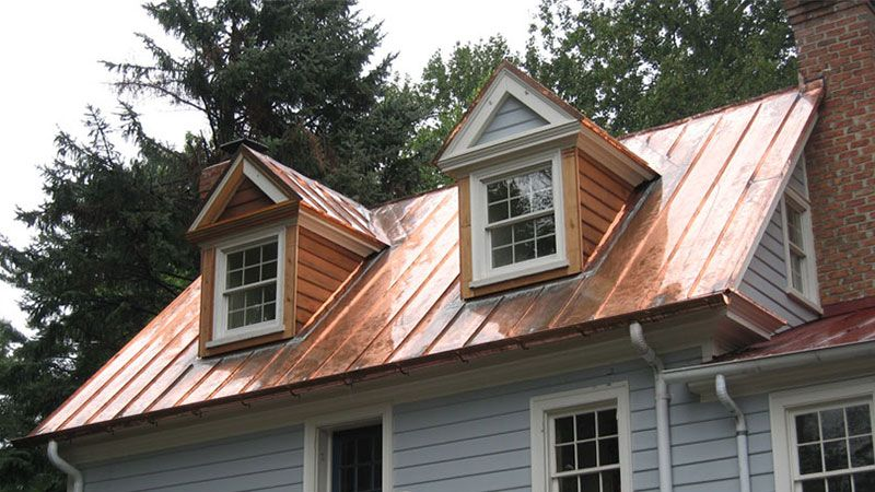 Metal Roofing Is Completely Different From Shingle Or Cedar Shake Roofing At Welsh Roofing We Take Pride Metal Roof Houses Copper Metal Roof Metal Buildings