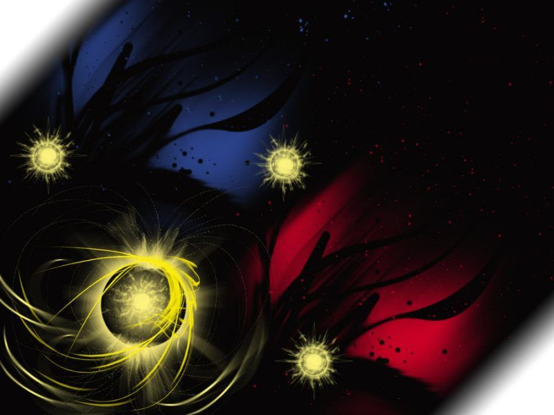 Philippines Flag Stars Sun Art