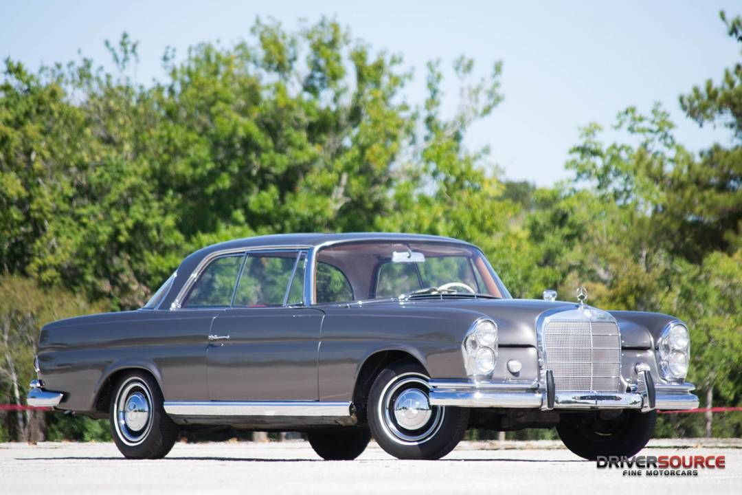1963 MercedesBenz 220SE W111 Coupe Mercedes coupe