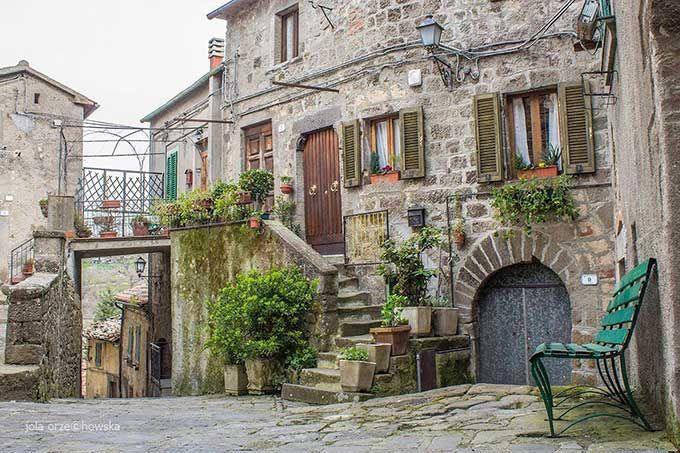 Aridosso, Beautiful Town In Province Of Grosseto