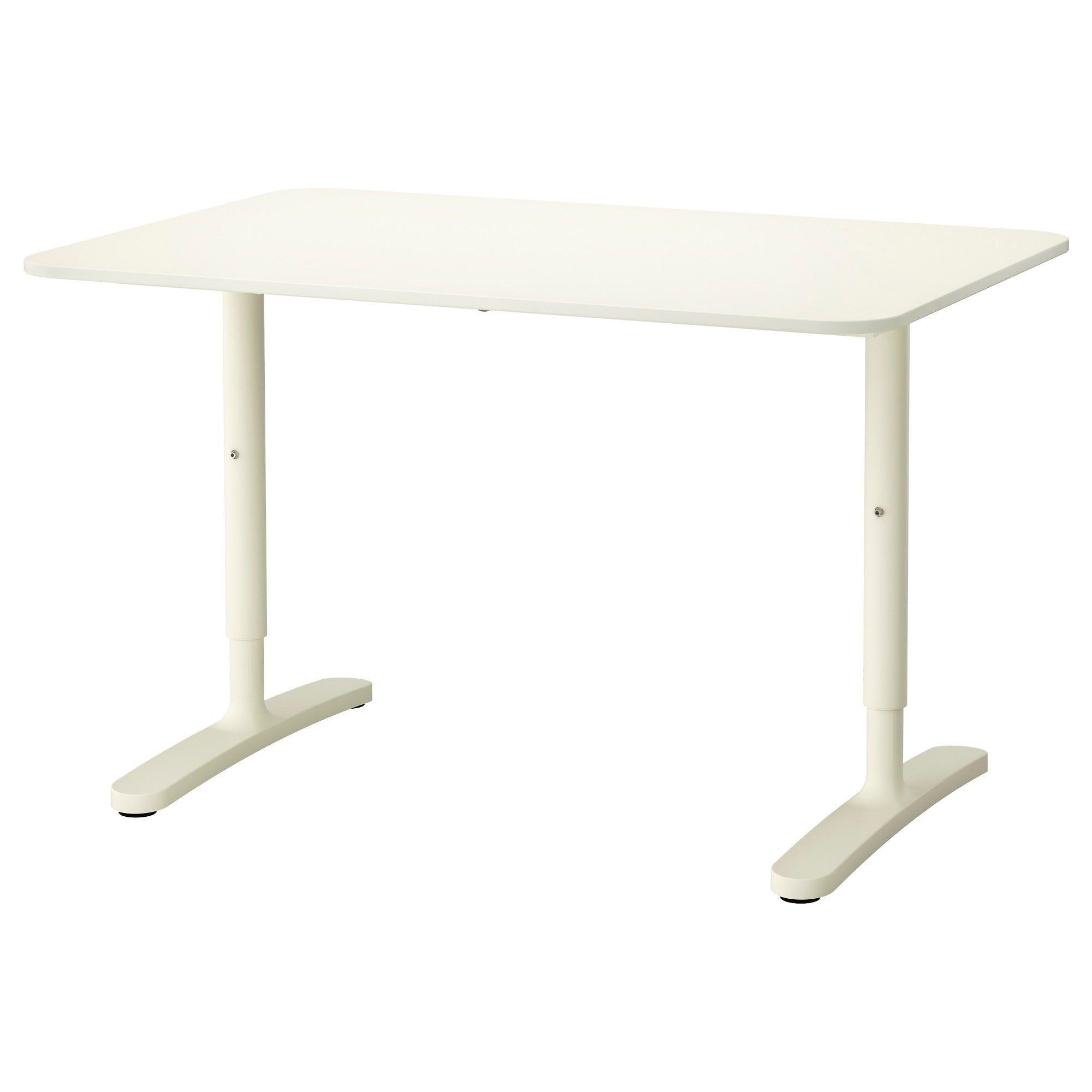"""BEKANT Desk - White 47 1/4x31 1/2 """""""
