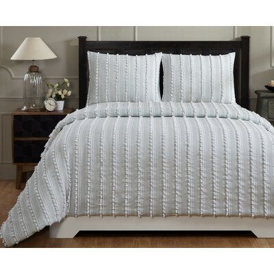 Photo of Bungalow Rose All Season Down Alternative Comforter Bed Size: Twin, Colour: Teal