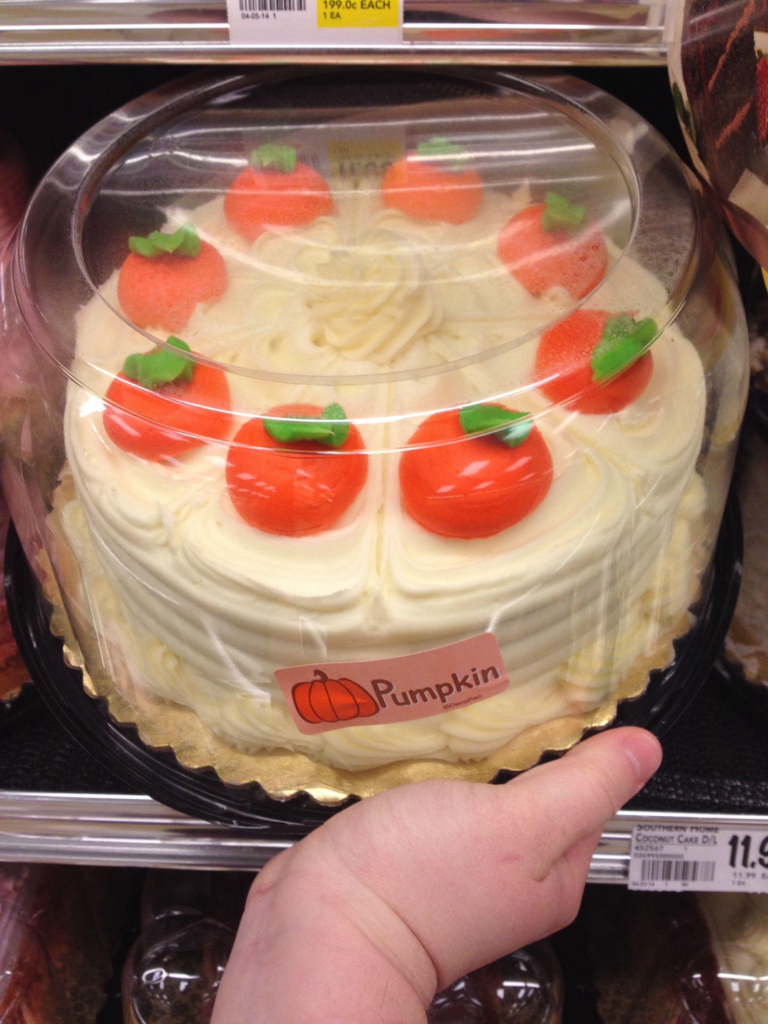 Pumpkin cake design
