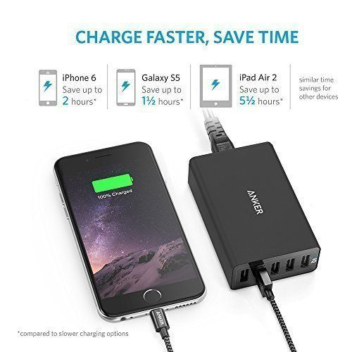 Anker USB Charger PowerPort 5 Multi