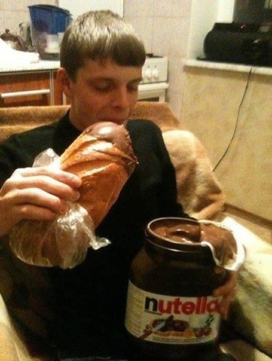 Nutella dream. Posso morrer?
