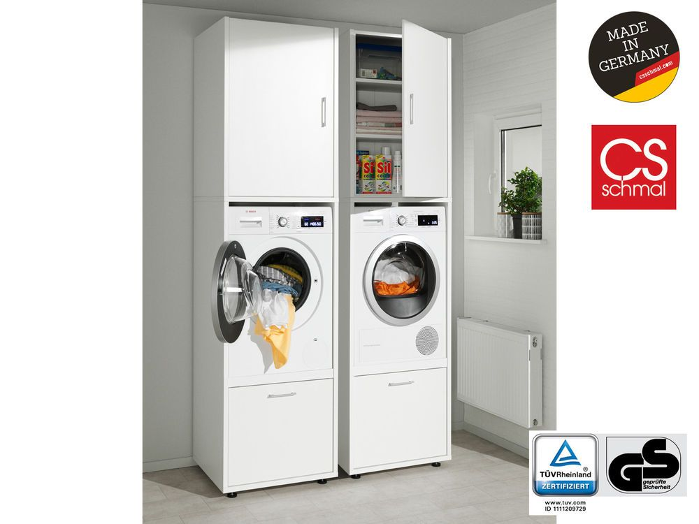 Hauswirtschaftsschrank Waschmaschinenschrank Trocknerschrank Waschturm Home Mobel Wohnen Mobel Sch Schrank Waschmaschine Trockner Schrank Waschmaschine
