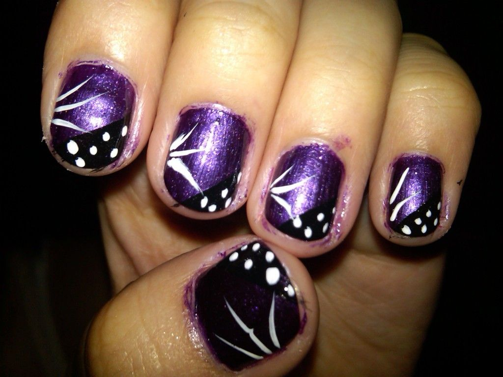 Nails 2016 Purple Acrylic Nails Designs Nail Designs ...