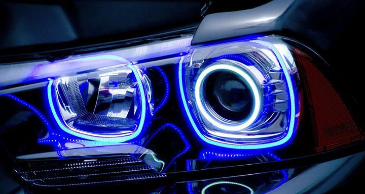 Lights For Both Projector Headlights