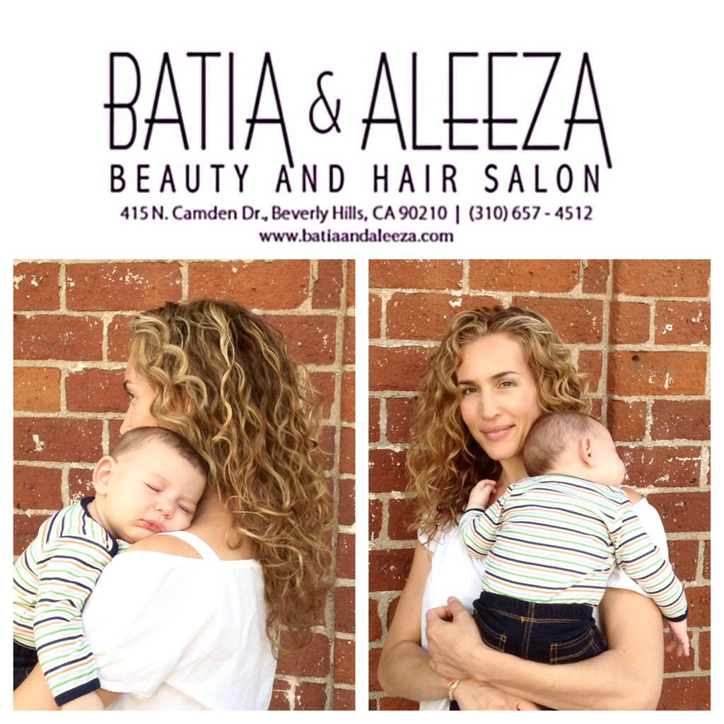 Sharona and Segev agree... 'It doesn't need to be Mother's Day to let mom have her hair pampered at #batiaandaleezahairsalon (310)657-4512 #hair #haircut #hairstyle #hairstylist #beauty #beautiful
