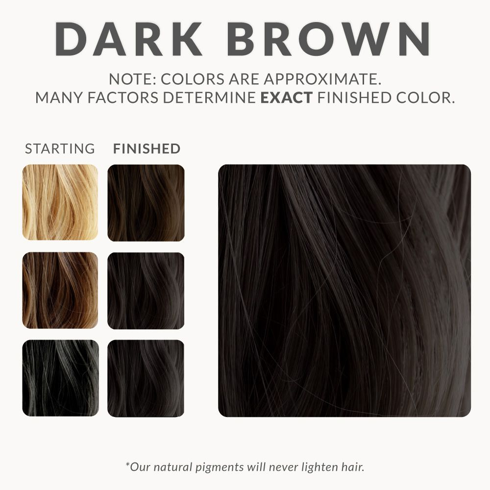 Dark Brown Henna Hair Dye Henna Color Lab Henna Hair Dye New