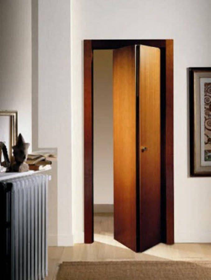 Resultado de imagen para puertas plegables de madera estilos - puertas de madera para bao