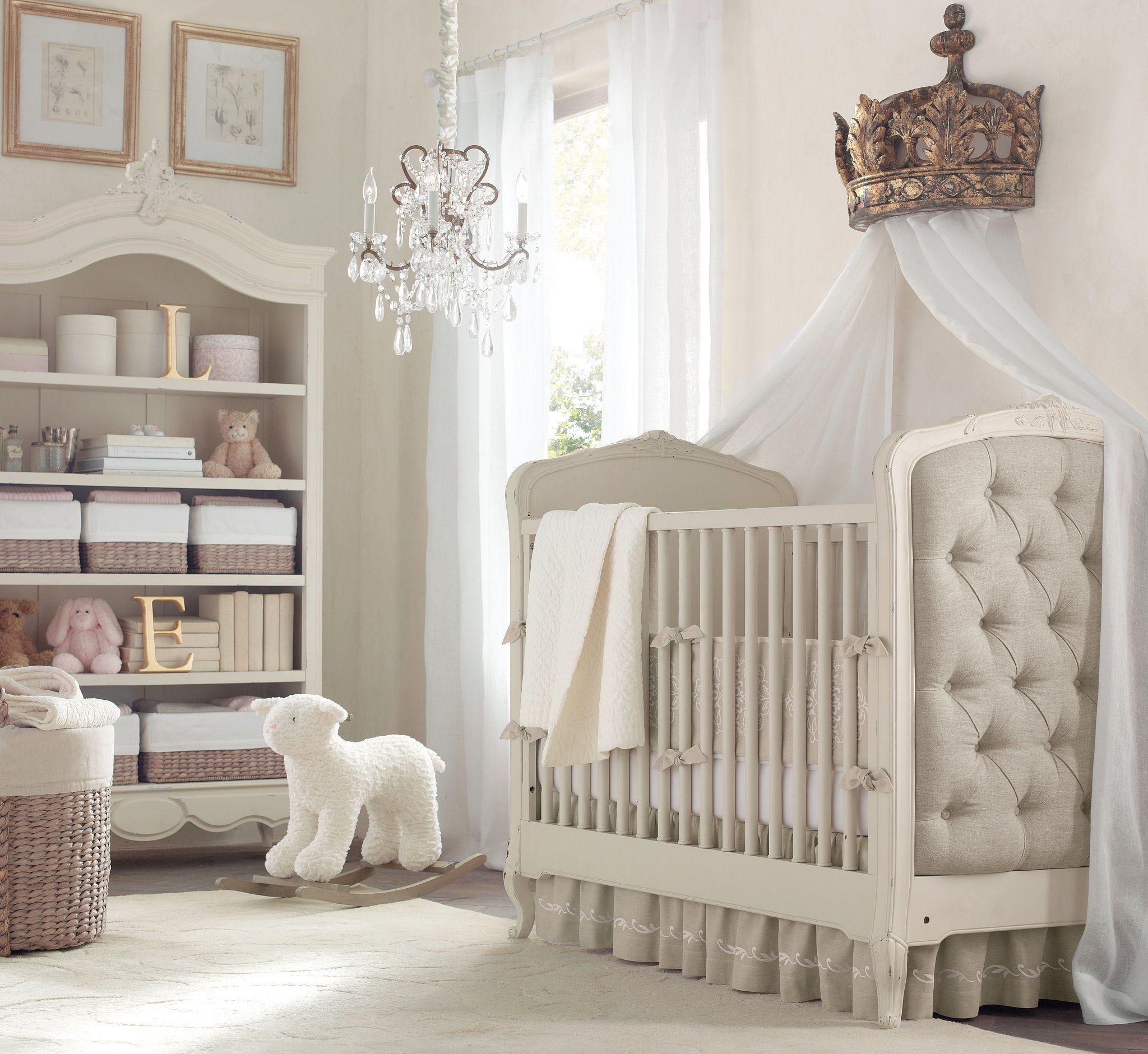 A Posh, Neutral Nursery | Bebe, Bebé y Cuarto de bebe