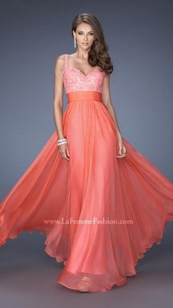 Evening Dresses La Femme Spring Summer 2014