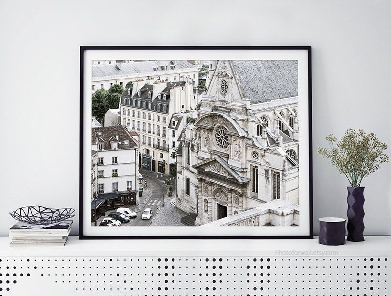 Paris Photography black and white photography Bathroom art