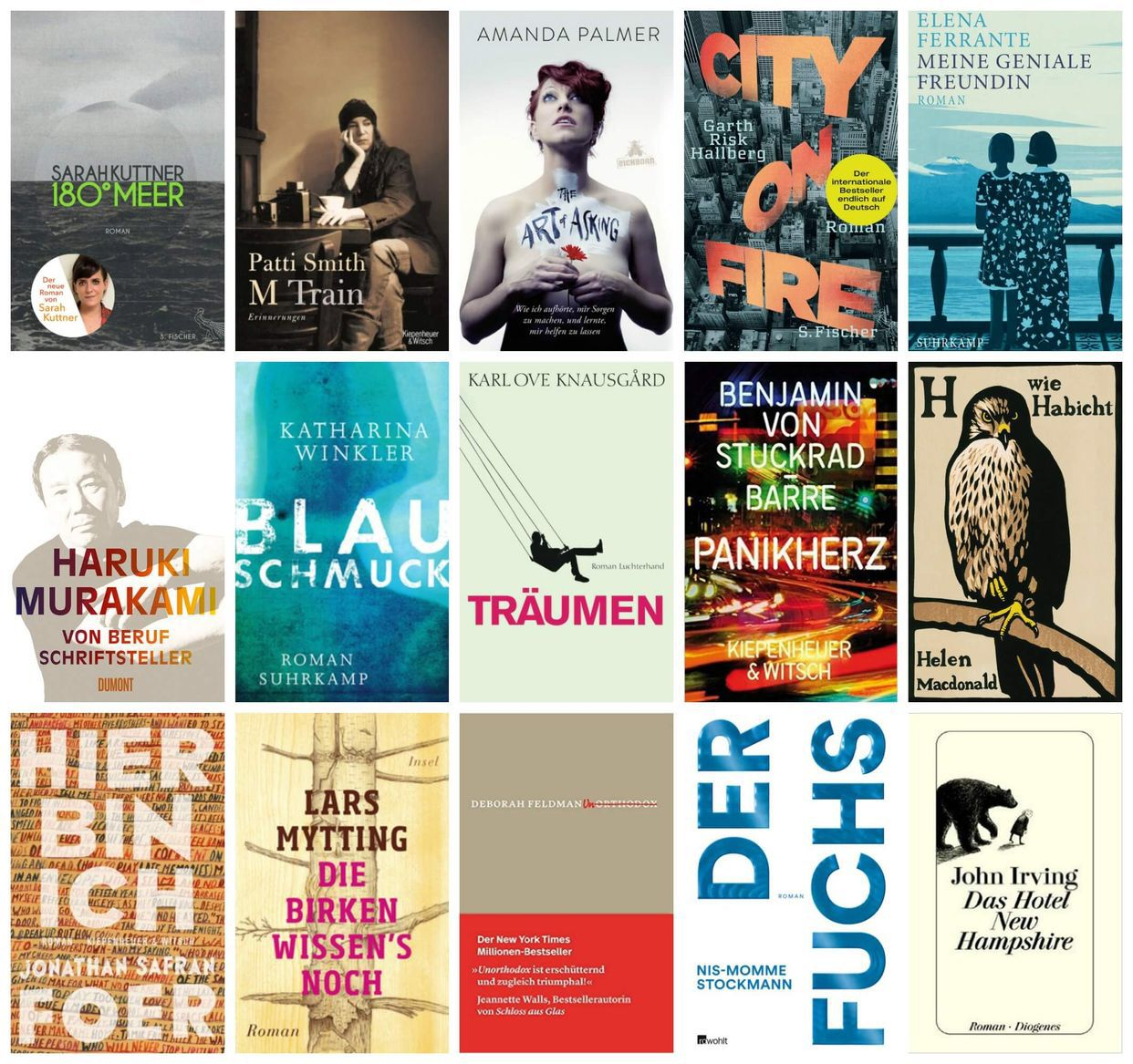 Ein Jahr in Büchern