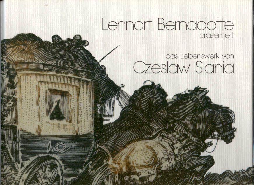 Czeslav Slania - en bok där Lennart Bernadotte fotograferat Slanias frimärken